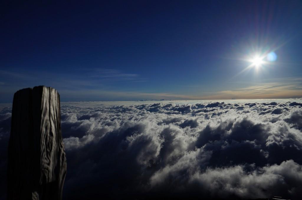 富士山山頂より2014.9.17